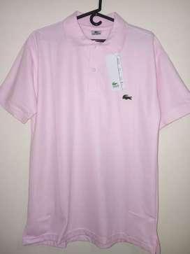 Camisa Lacoste rosada