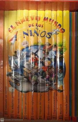 """ENCICLOPEDIA DIDACTICA Y DVDs """"MUNDO DE LOS NIÑOS"""""""