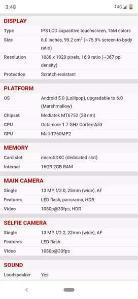 Vendo Sony Xperia c5ultra