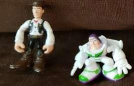 Muñecos Plastico Infantil Toy Story Woody Buzz Lightyear Torta ASP
