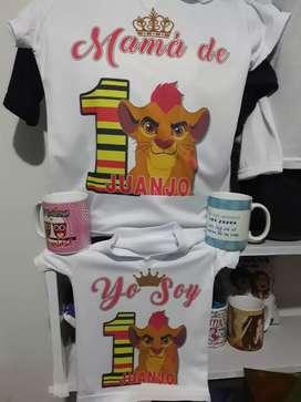 Camisetas para cumpleaños
