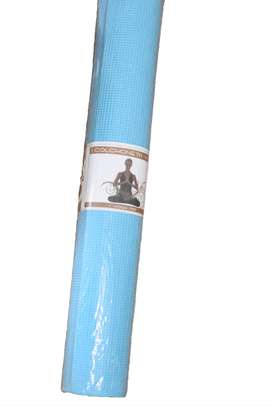 Mat Pilates Yoga 4mm Softee 180x60 Celeste