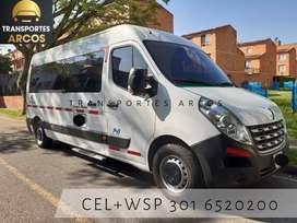 Servicio de transporte busetas