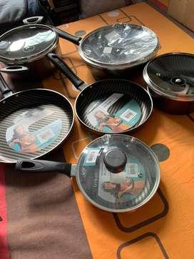 Bateria de cocina antiadherente