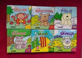 """Libros infantiles SIGMAR, colección """"Quién se esconde"""""""