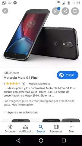 Vendo mi celular moto G4 plus