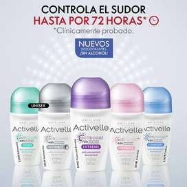 Desodorante Antitranspirante en Roll-On