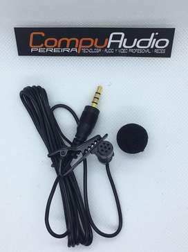 Microfono de solapa para celular Triestero