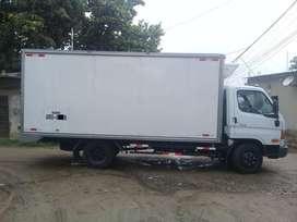 Chofer profesional con camión thermo king 5T - 2019, HYUNDAI