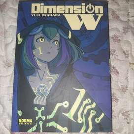 Manga Dimension W vol 1 Editorial Norma