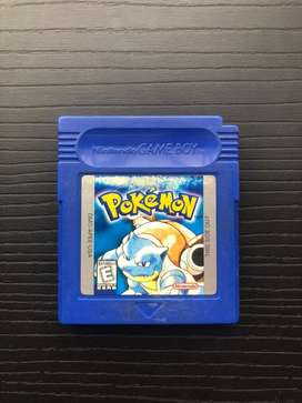Juego Cartucho Pokemon blue azul Game Boy Color Nintendo Original