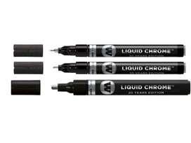 Plumones/marcadores color cromo