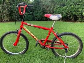 Bicicleta tipo BMX Rodado 20 Impecable