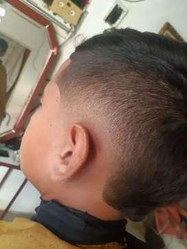 Barbero Tengo 2 años de experiencia