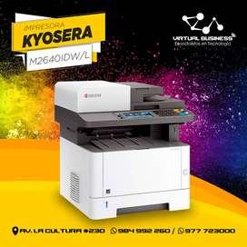 Impresora multifunción KYOCERA M2640idw