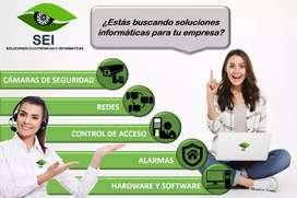 Seguridad electrónica. CCTV, alarmas