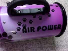 Soplador profesional de alto rendimiento para peluquería canina y felina con regulador de potencia multivariable