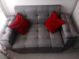 Sala para espacios reducidos mueble mas mesedora