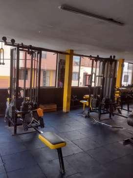 Gimnasio, pesas y funcional