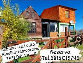 Cabaña La Lolita.  Lugar ideal para descansar