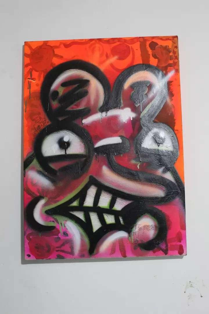 Obra Lienzo - Crazy Mouse