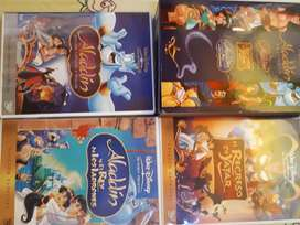 2 packs dvds originales