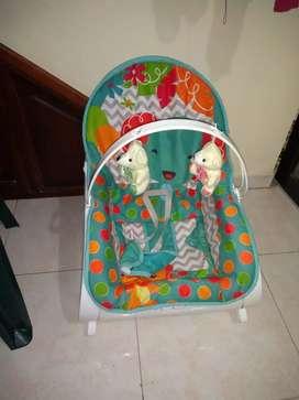 Se vende silla vibradora musical