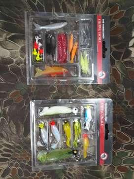 Señuelos de Pesca Pack por 8 Piezas