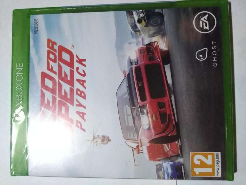 Need For Speed Pay Back Xbox One Nuevo en Fisico 0