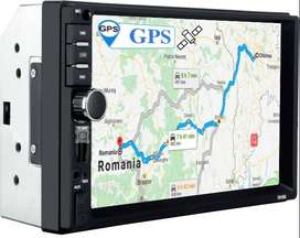 Radio para Carro Ref 7018G Mp5 con GPS Pantalla 7 Tactil Bluetooth Camara Reversa