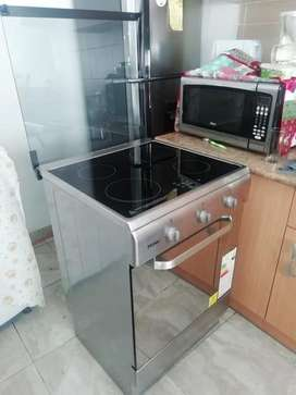 Cocina de induccion con horno
