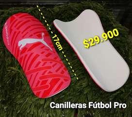 CANILLERAS DE FUTBOL PRO 17CM