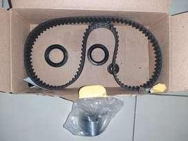 Kit de repartición y retenedor de Cigüeñal chevrolet spark Cronos 2013