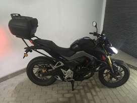 Moto Honda 190 CBF inyección