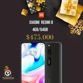 Xiaomi redmi 8 4gb/64gb, nuevos, sellados, TIENDA FISICA, factura y garantia, mejor que el redmi 7.