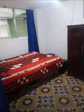 Se arrienda habitación para hombre solo