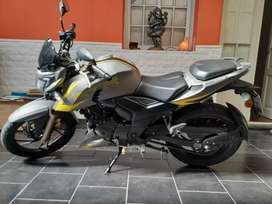 Motovehiculo Tvs rtr 200fi Gris