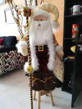Muñeco navideño con luces