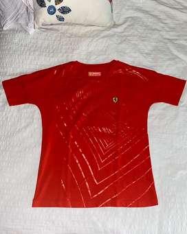 Camisa Ferrari original roja