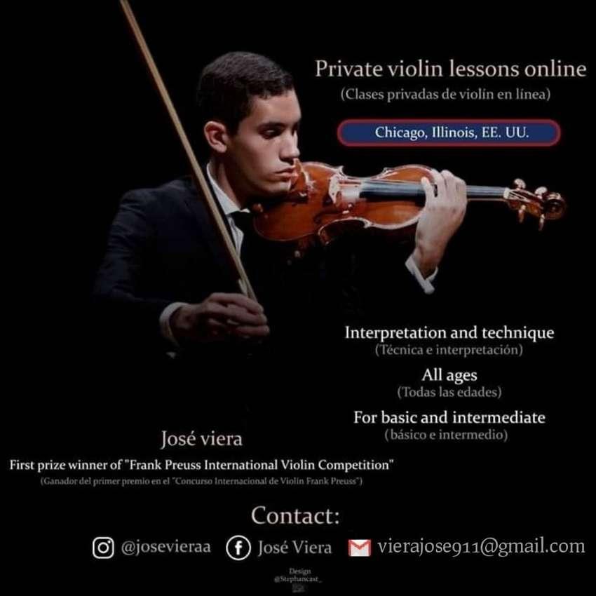 Clases de violín online 0