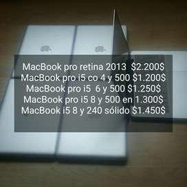 Macbook Pro Core I5 Distintas Especifica