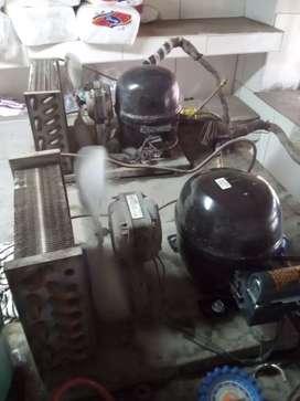 Reparación y mantenimiento de refrigeración