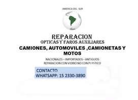 Reparacion De Opticas , Faros  Y Led De Todas Las Marcas