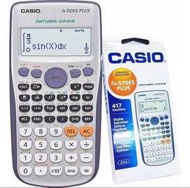 Calculadora Científica Casio Fx-570es Plus 417 Funciones