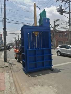 Prensas,compactadoras para reciclaje verticales