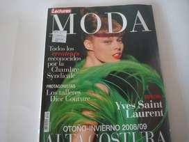 LECTURAS MODA