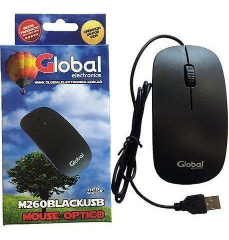 MOUSE GLOBAL USB PARA PC -NOTEBOOKS- TV 0