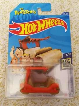 Picapiedra HotWheels auto de coleccion