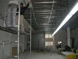 Instalacion de drywall y te ofrecemos el personal si nolo tienes
