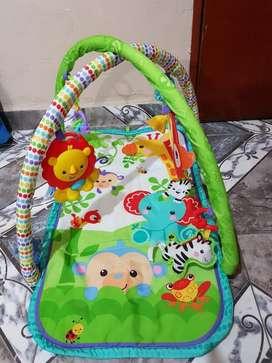 Gimnasio para Bebés Nuevo con Accesorios